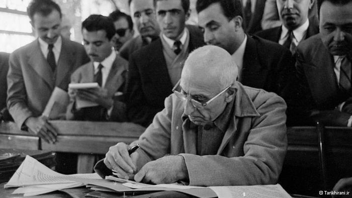 """Nationalisierung oder Tod!"", sagte Mossadegh; Foto: Tarikhirani.ir"
