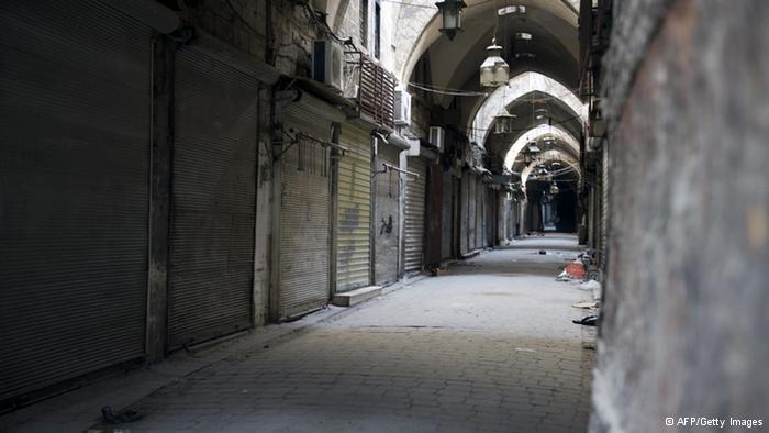 Historischer Basar in Aleppo