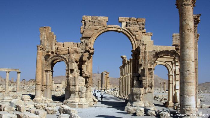 Triumphbogen in Palmyra