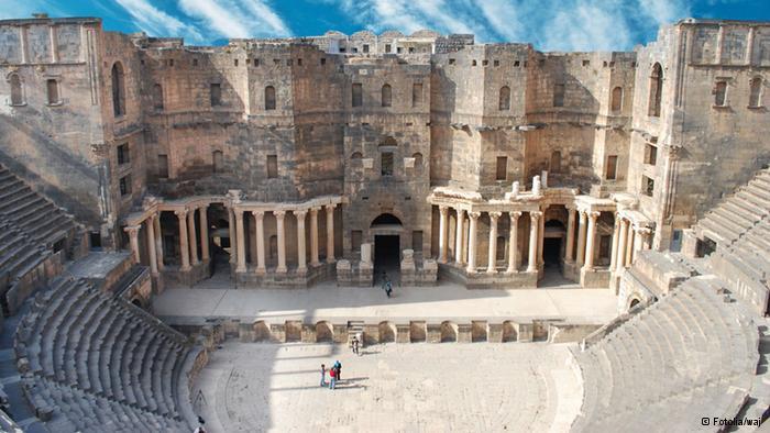 Amphitheater in Bosra