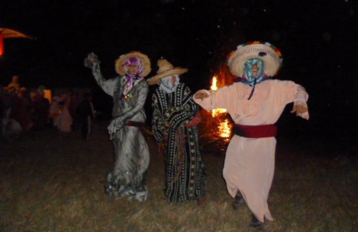 Crazy Aishas beim Tanz in Joujouka; Foto: Arian Fariborz