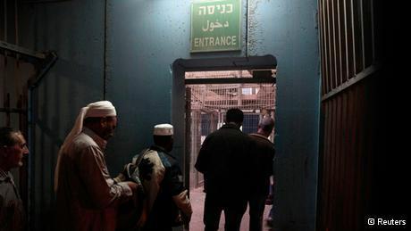 Israelischer Checkpoint in der Nähe Betlehems; Foto: Reuters