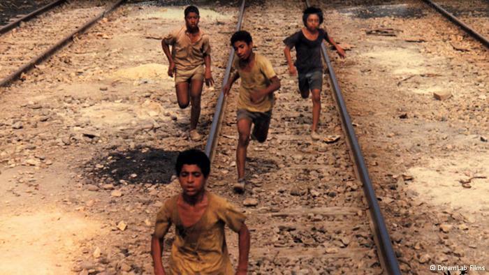 Filmszene aus Der Läufer von Amir Naderi