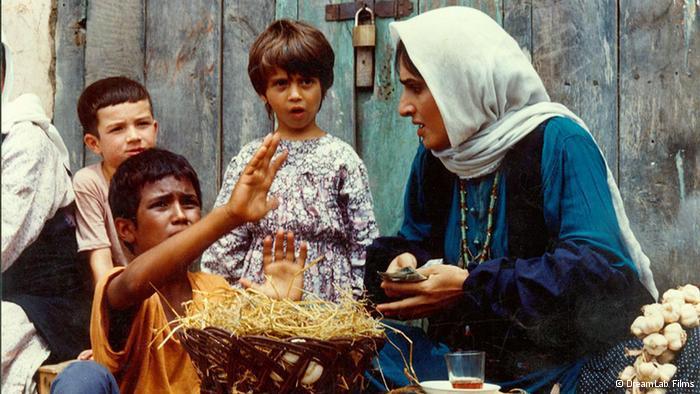 Filmszene aus Bashu der kleine Junge von Bahram Beyzai