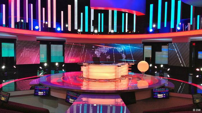 Bassem Youssefs Studio für die Sendung Al-Bernameg; Foto: DW