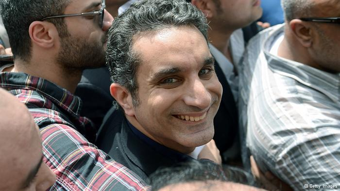 Bassem Youssef in Kairo; Foto: Getty Images