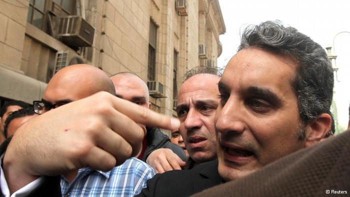 Bassem Youssef; Foto: Reuters