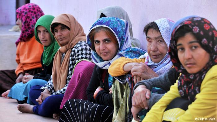 Geistig behinderte Menschen in einer psychatrischen Klinik in Herat; Foto: Afghan Eyes