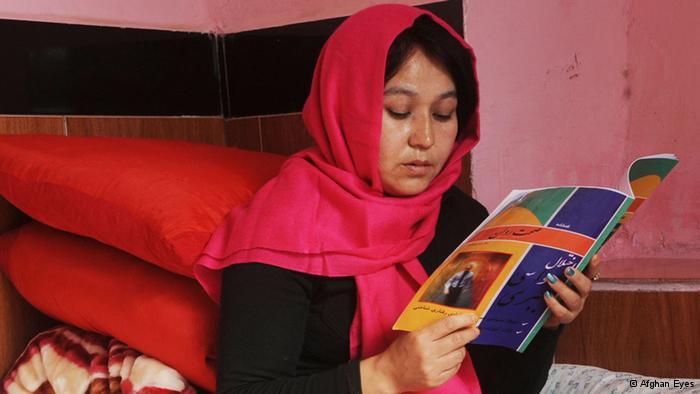Patientin in einer Klinik für geistig Behinderte in Herat; Foto: Afghan Eyes