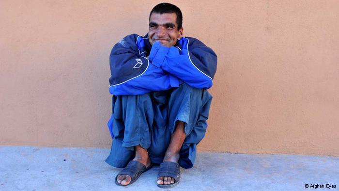 Geistig Behinderter in Herat; Foto: Afghan Eyes