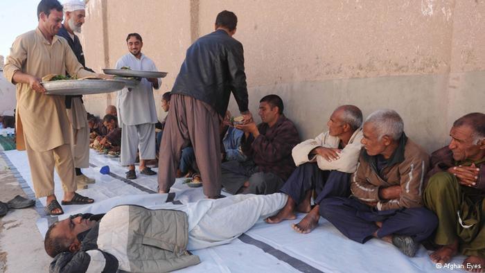 Männer in einem Heim für psychische  Erkrankungen in Kabul; Foto: Afghan Eyes