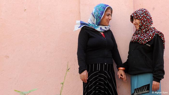 Geistig behinderte Frauen in einem Heim; Foto: Afghan Eyes