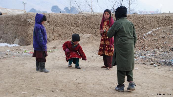 Spielende Kinder; Foto: DW/H. Sirat