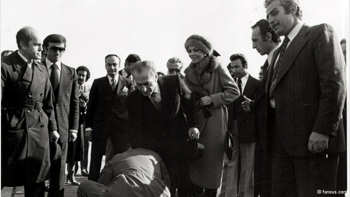 Schah Reza Pahlawi verlässt Teheran; Foto: © fanus.com
