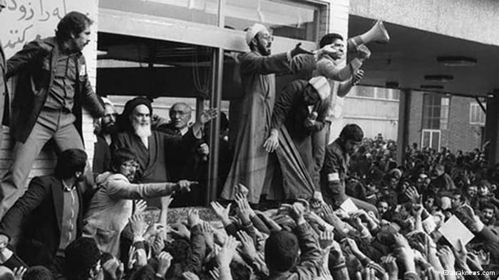 Khomeini auf dem Zentralfriedhof in Teheran; Foto: © araknews.com