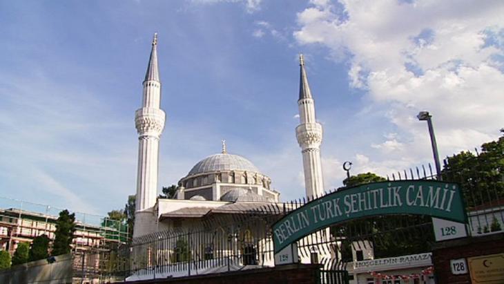 Berliner Sehitlik Moschee; Foto: DW