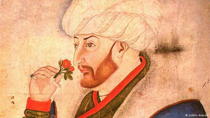 Porträt des osmanischen Sultans Mehmet der Eroberer; Foto: pulic domain