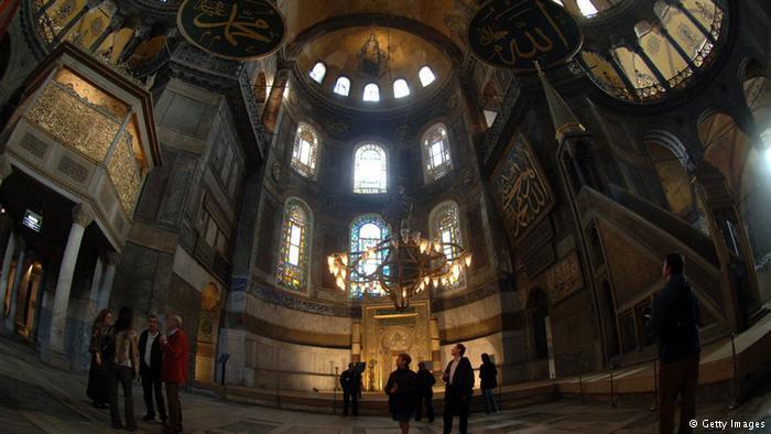 Innenansicht der Hagia Sophia; Foto: Getty Images