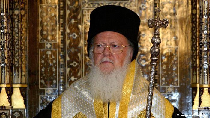 Orthodoxer Patriarch Bartholomäus; Foto: dpa