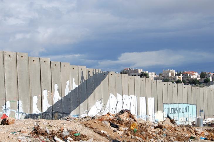 Streetart des italienischen Künstler Blu am Aida-Camp nahe Bethlehem; Foto: Laura Overmeyer