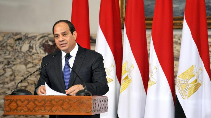 Ägyptens Präsident  Abdel Fattah al-Sisi; Foto: dpa/picture-alliance