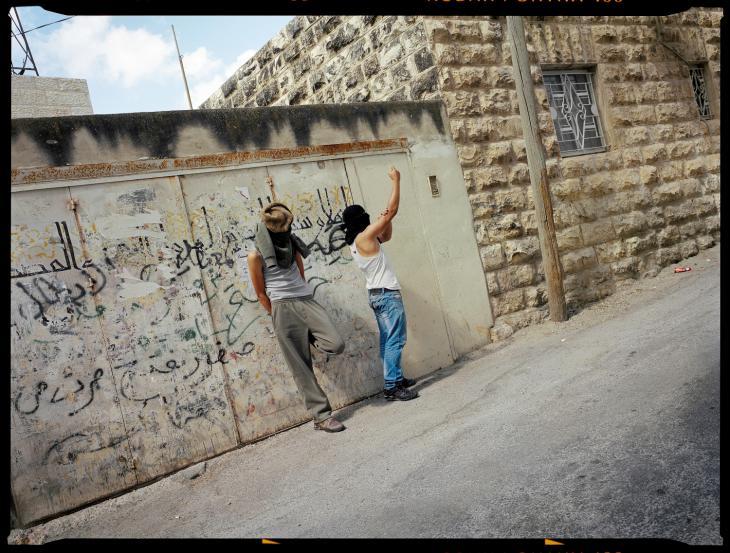 Gilles Peress, Silwan, East Jerusalem, near Ras al-Amud, 2011, © Gilles Peress