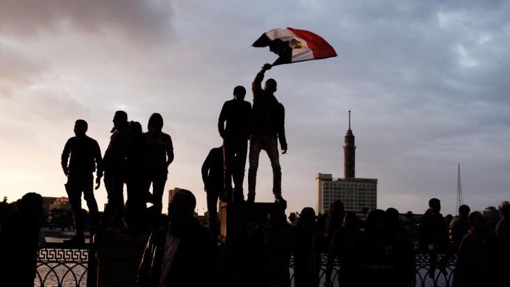 Symbolbild Arabischer Frühling Ägypten; Foto:  Ed Giles/Getty Images