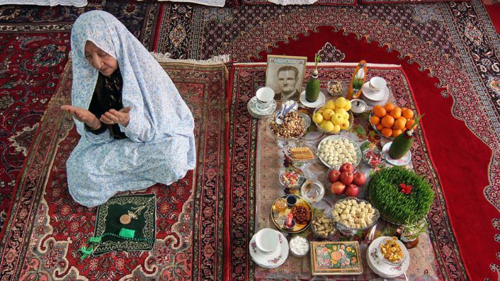 Noruz im kurdisch-iranischen Dorf Toop Aghaj; Foto: Jamshid Farajvand Farda