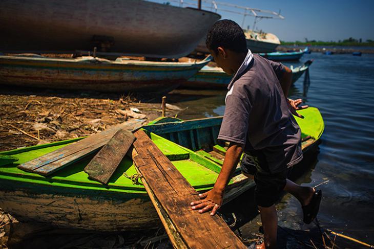 Ein Tag im Leben einer Familie in Rosette, Foto: Mahmoud Yakut