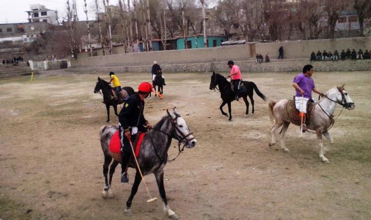 Polo in Skardu, Gilgit-Baltistan, Pakistan. Foto: Usman Mahar