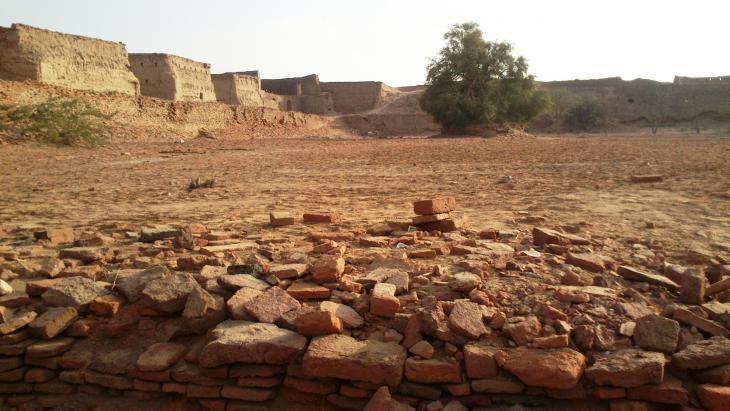 Innenhof der Derawar-Festung, Bahawalpur, Punjab, Pakistan. Foto: Julis Koch