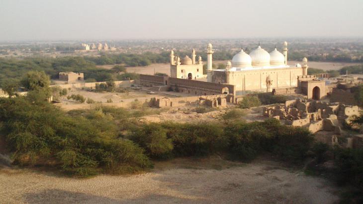 Abbasi-Moschee, Derawar-Festung, Bahawalpur, Punjab, Pakistan. Foto: Julis Koch