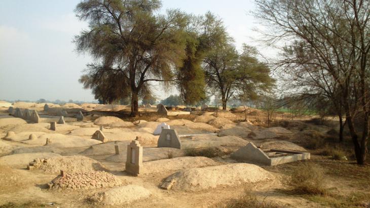 Grablandschaft, Bahawalpur, Punjab, Pakistan. Foto: Julis Koch