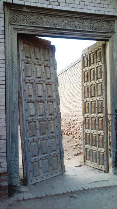 Tor, Derawar-Festung, Bahawalpur, Punjab, Pakistan. Foto: Julis Koch