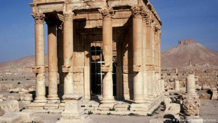 Tempel des Gottes des Windes - Baal-Schamin; Foto: picture-alliance/ dpa/ Scholz