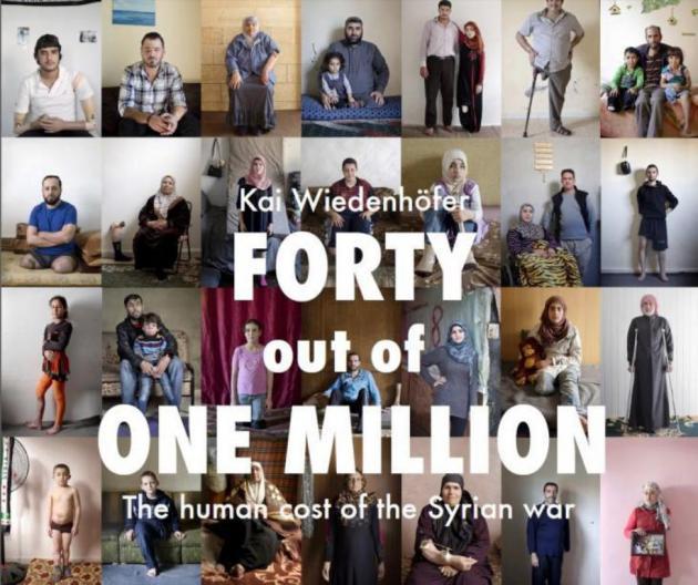"""Plakat zu """"Vierzig aus einer Million"""" von Kai Wiedenhöfer."""
