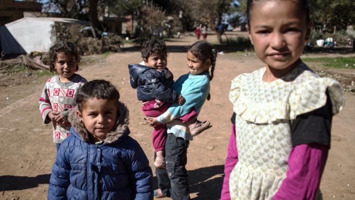 Syrische Flüchtlingskinder in Torbali; Foto: DW/D. Cupolo