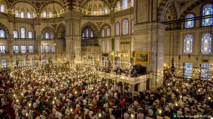 Die Fatih-Sultan-Moschee in Istanbul; Foto: AFP/Getty Images