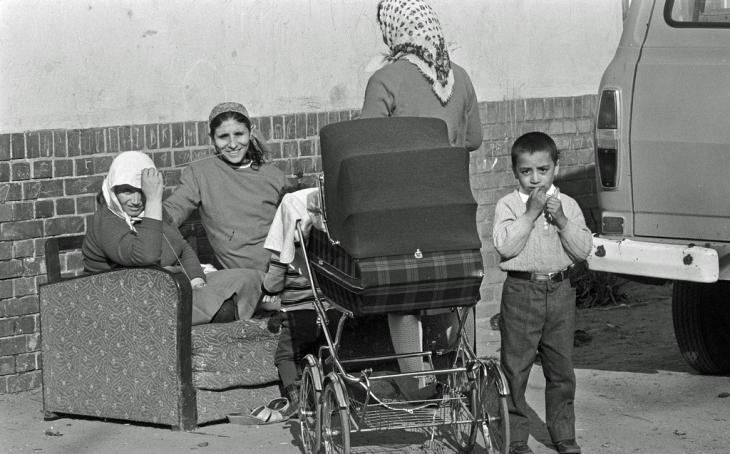 Türkische Gastarbeiterinnen in Deutschland; Foto: Creative Commons Lizenz/Heinrich Klaffs