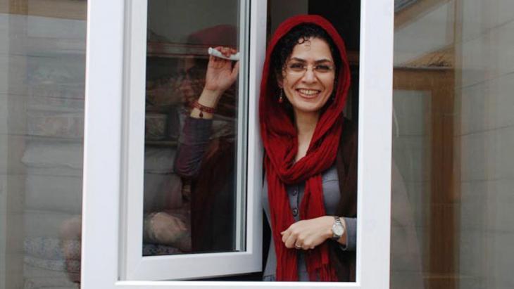 Bahareh Hedayat; Foto: humanrights-ir.org