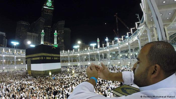 Gläubiger Muslim während der Hadsch; Foto: Reuters
