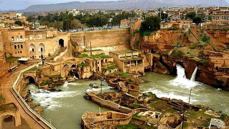 Überreste der antiken Stadt Susa im heutigen Shush, Iran; Foto: peikshushtar.ir