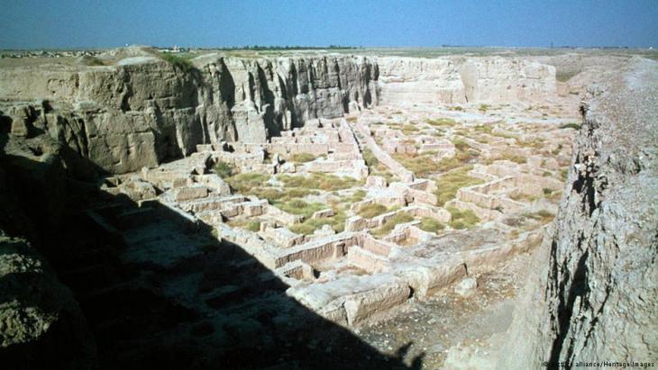 Überreste der antiken Stadt Susa im heutigen Shush, Iran; Foto:picture alliance/Heritage Images