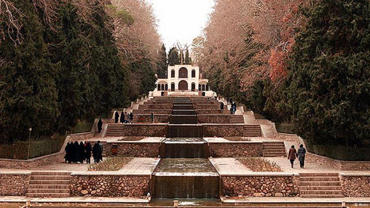 Shazdeh-Garten in der Nähe von Mahan, Kerman; Foto: mehr