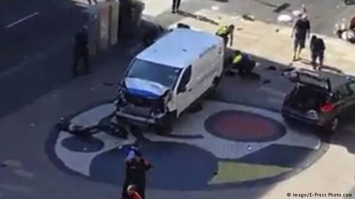 Der Lieferwagen des Attentäters. Foto: Imago