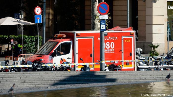 Tote und Verletzte in Barcelona. Foto: Getty Images
