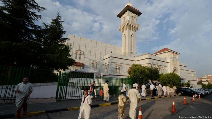 Die Moschee in Madrid ist eine der größten Europas