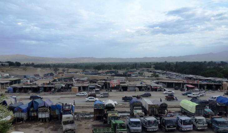 Blick über die Stadt Khost; Foto: Emran Feroz