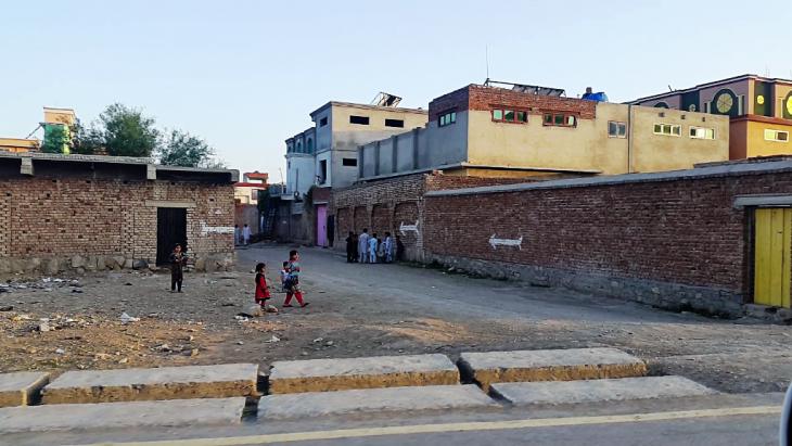 Straßenszene Khost. Foto: Emran Feroz
