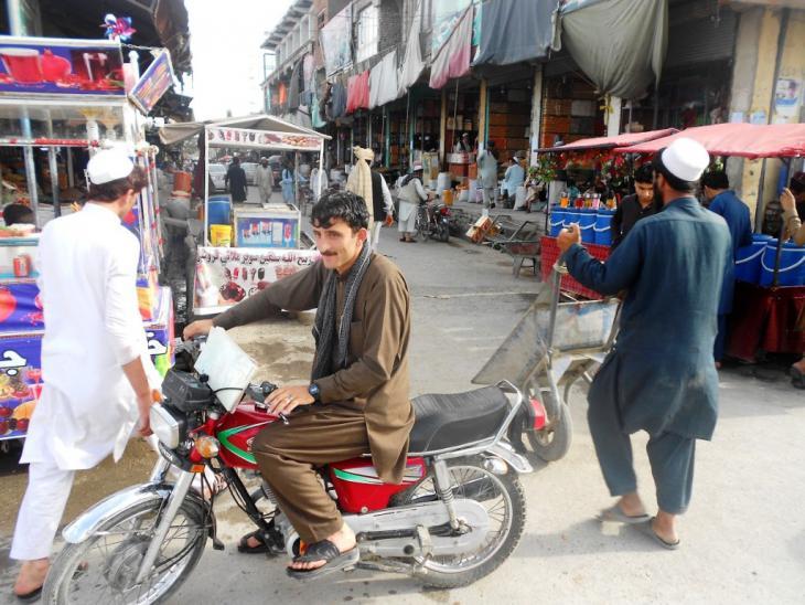 Stadtzentrum von Khost; Foto: Emran Feroz